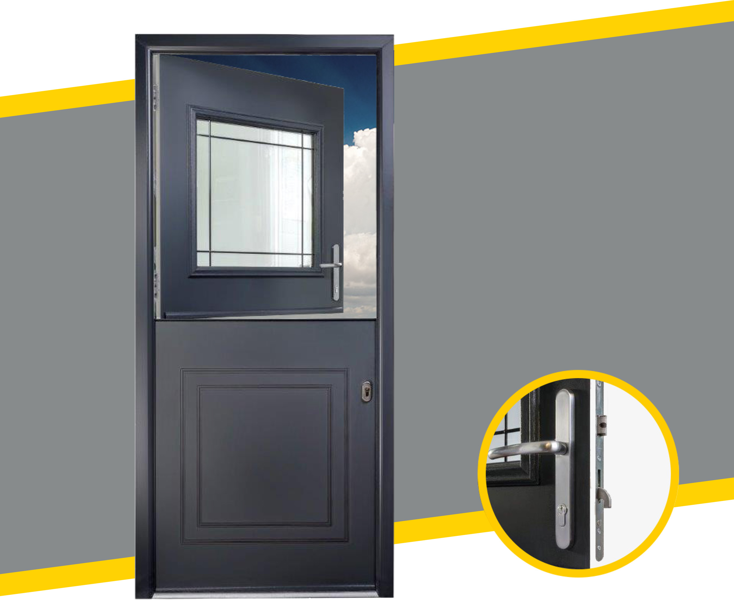 yale composite stable doors